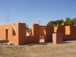 maison en briques monomur